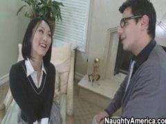 Hawt Oriental School Fucks Her Teacher