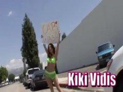 Sexy Redhead Kiki Vidis acquires fucked hard!