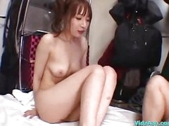 Breasty Girl Riding On Guy Drilled Cum To Abdomen On The Airbed In The Bath