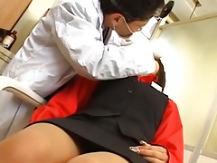 Enchanting juvenile asian sucks big dick