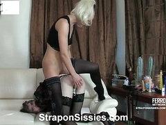 Caroline&Maurice vivid sissysex act