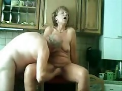 Old pair still like to have loads of fun in their sex life which u can see in this private porn movie. She acquires licked and drilled in her old slit while he pleasures his old cock.