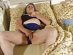 Although our granny is so old that that babe barely moves the fucking slut still needs to fuck. Cornel rubs her saggy vagina and then receives some help from her girl. She kisses these old wrinkled boobs and helps her undress so they can have some lesbian action. The whores wish to acquire dirty so why not watch them and enjoy