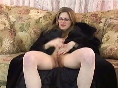 Featuring this blonde, hot white slut in her solo performance,...