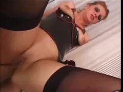 Whore in latex for good anal sex